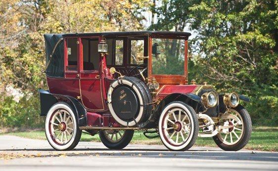 120: 1910 Peerless 30 hp Open-Drive Landaulet