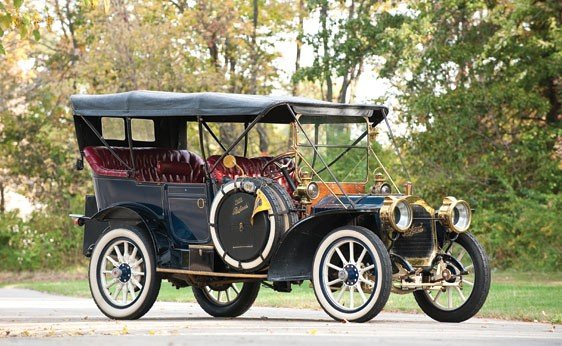 121: 1908 Packard Model 30 7-Passenger Touring