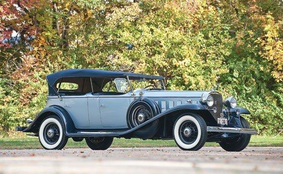 122: 1932 Cadillac Sixteen Special Phaeton