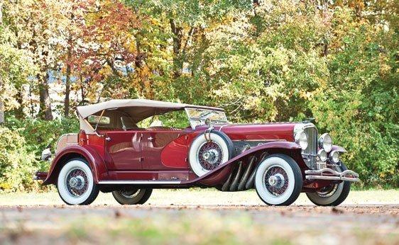123: 1930 Duesenberg Model J Dual Cowl Phaeton