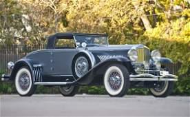 144: 1930 Duesenberg Model J Convertible Coupe