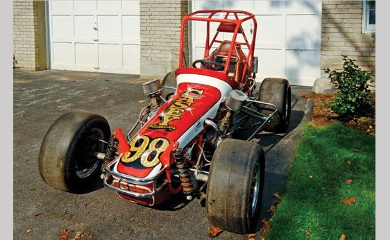 Greenfield jul 11th midget racer