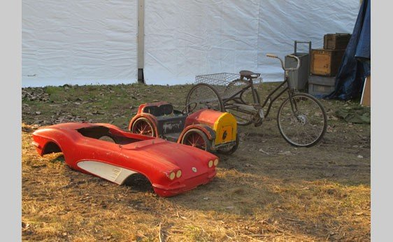 5001: Trike and Children's Cars