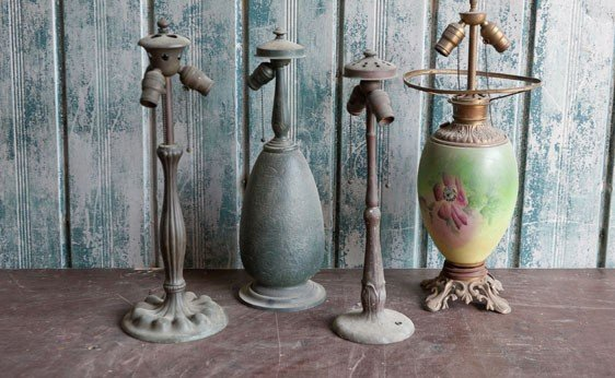 5019: Assorted Lamp Bases