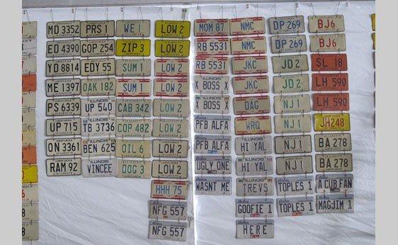 6003: Illinois Vanity License Plates