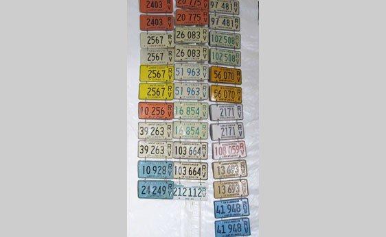 6005: Illinois RV License Plates