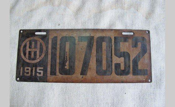6010: Ohio Plate