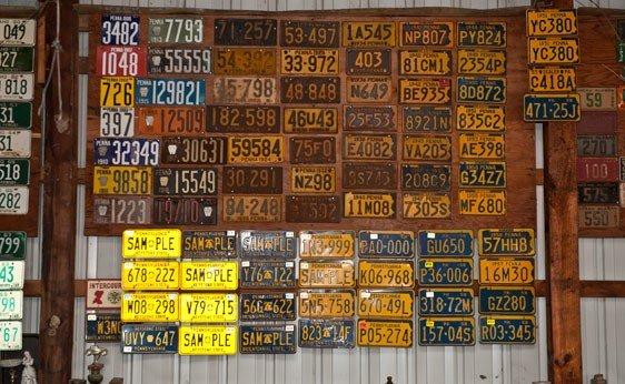 6013: Pennslyvania License Plates