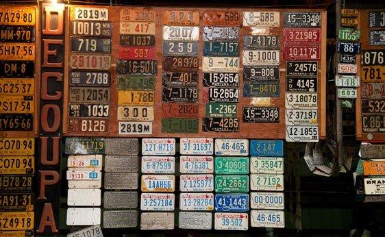 6015: Montana License Plates