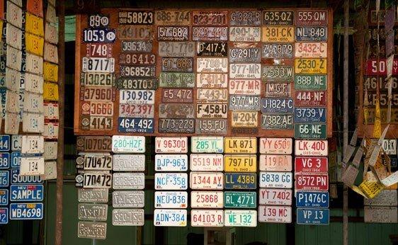 6018: Ohio License Plates