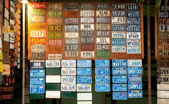 6019: Nevada License Plates