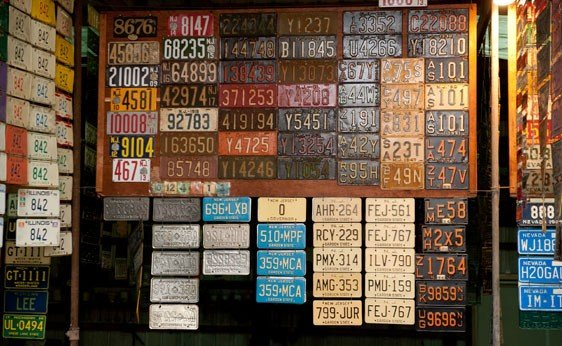 6020: New Jersey License Plates