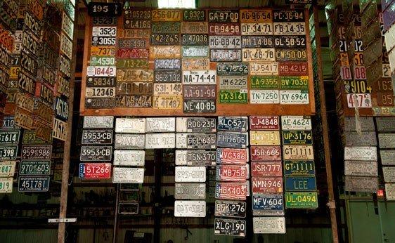 6021: Michigan License Plates
