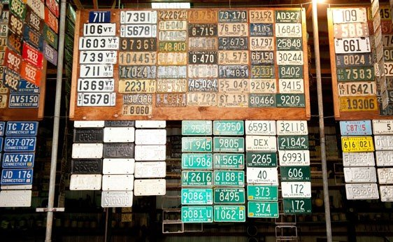 6023: Vermont License Plates