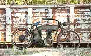 6489: 1912 Harley-Davidson Single-Cylinder Belt Drive