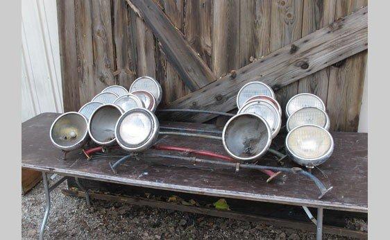 7004: Model A Headlamps