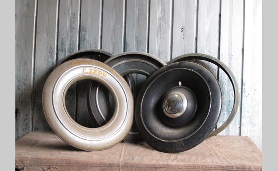 7018: Ford Spare Tire Covers