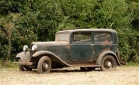 7529: 1932 Ford Model B Tudor Sedan