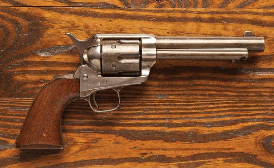 101: Colt Single Action Army Revolver
