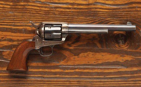 102:  Colt .44 Caliber Single Action Army Revolver