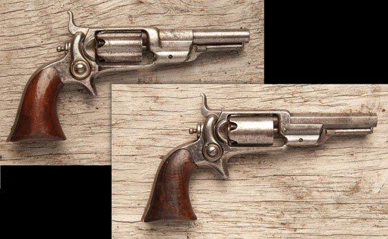 106: Two Colt Model 1855 Side Hammer Pocket Revolvers