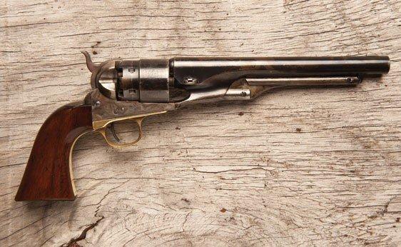 108: Colt Model 1860 .44 Caliber Single Action Revolver