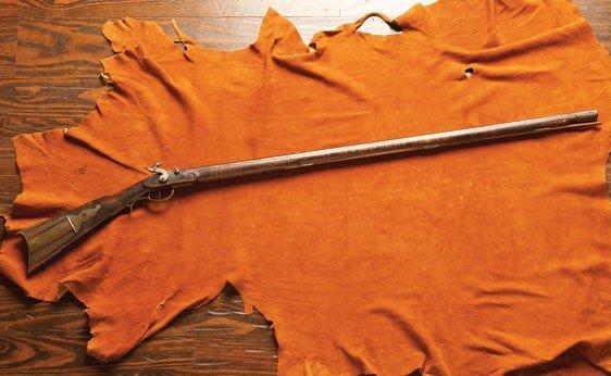 137: Kentucky Percussion Long Rifle