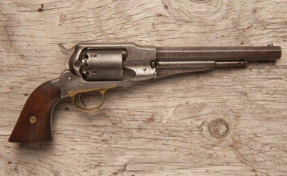 140: Remington Model 58 .44 Caliber Revolver