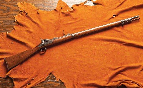 143: U.S. Springfield Trapdoor Muzzle Load Rifle