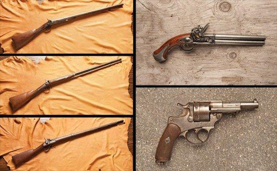 147: Five Assorted Guns