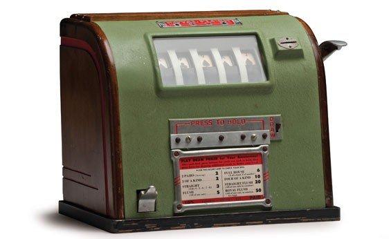 """284:  """"Royal Flush"""" Card Machine"""