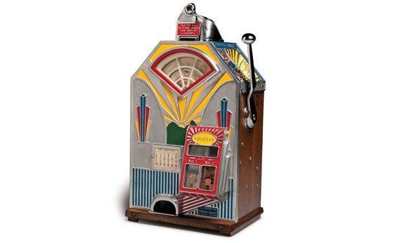 "288:  ""Little Duke"" Penny Slot Machine"