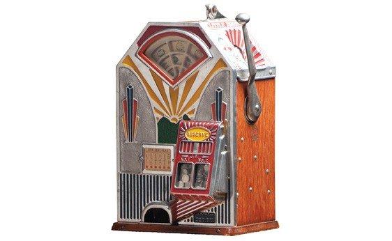 "290:  ""Little Duke"" Nickel Slot Machine"