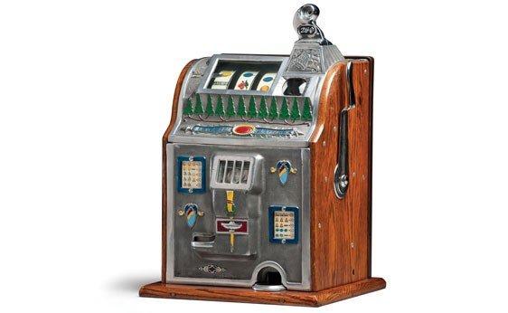 "293:  Mills-Bell ""1776"" 25-Cent Slot Machine"