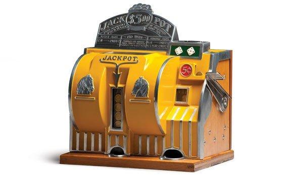 295: Bally Reliance Five-Cent Dice Machine