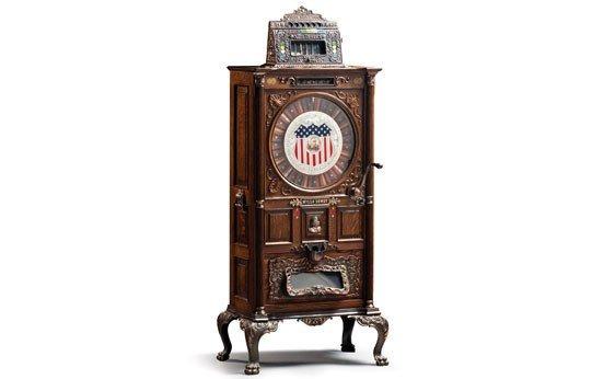 "297:  Mills ""Dewey"" Musical Nickel Slot Machine"