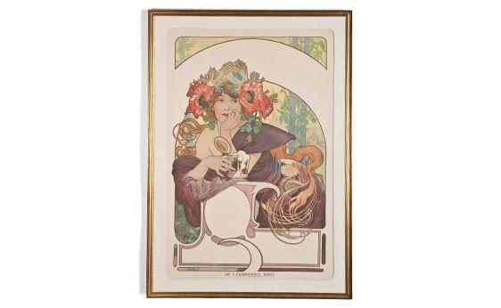 """361:  """"La Meuse"""" by Alphonse Mucha"""