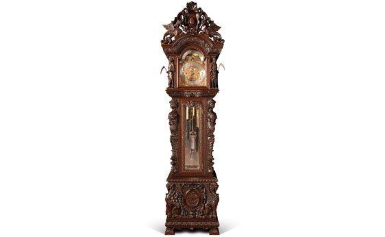 510:  Black, Starr & Frost Hall Clock