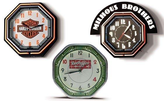 607: Three Assorted Clocks