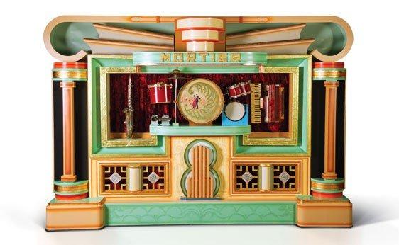 716: Mortier 105-Key Art Deco Dance Organ