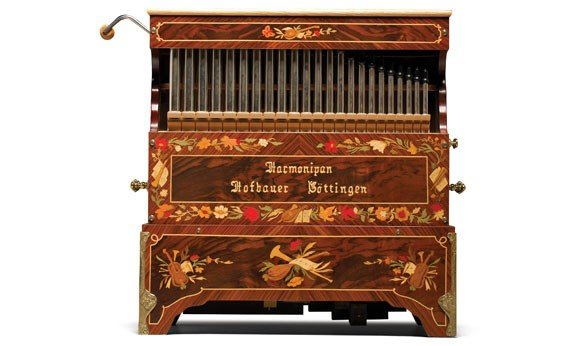 769: Hofbauer Harmonipan Crank Organ