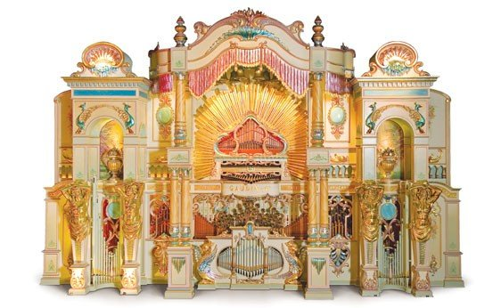790: Gaudin 125-Key Dance Organ