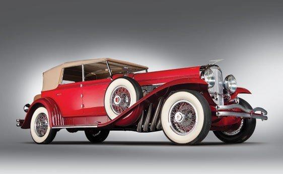 819: 1930 Duesenberg Model J Convertible Sedan