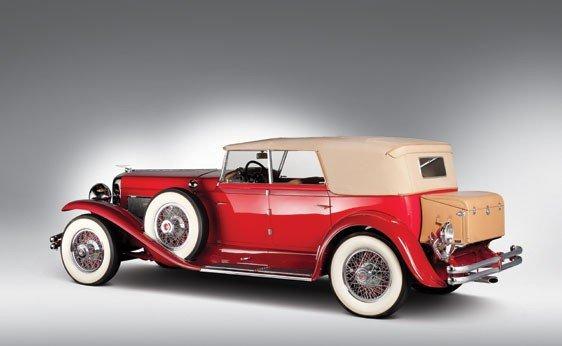 819: 1930 Duesenberg Model J Convertible Sedan - 2