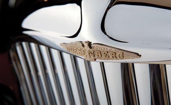 819: 1930 Duesenberg Model J Convertible Sedan - 5