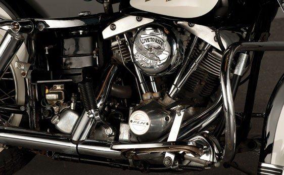 832: 1972 Harley-Davidson FLH-1200 Electra-Glide - 3