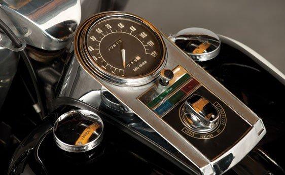 832: 1972 Harley-Davidson FLH-1200 Electra-Glide - 8
