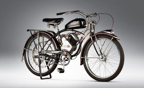 837: 1947 Whizzer Motorbike