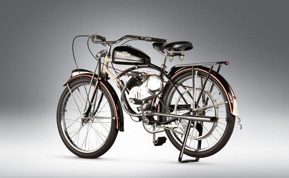 837: 1947 Whizzer Motorbike - 2