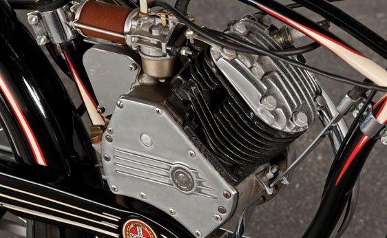 837: 1947 Whizzer Motorbike - 5